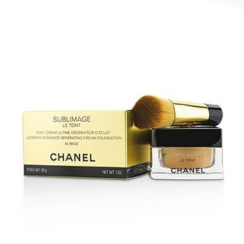 Chanel Rozjasňující krémový make-up Sublimage Le Teint (Ultimate Radiance Generating Cream Foundation) 30 g - Odstín: 50 Beige