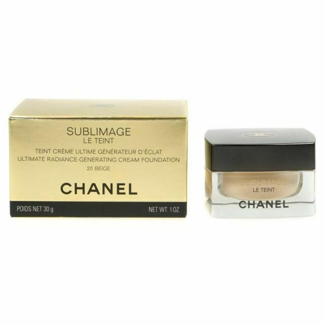 Chanel Rozjasňující krémový make-up Sublimage Le Teint (Ultimate Radiance Generating Cream Foundation) 30 g - Odstín: 20 Beige